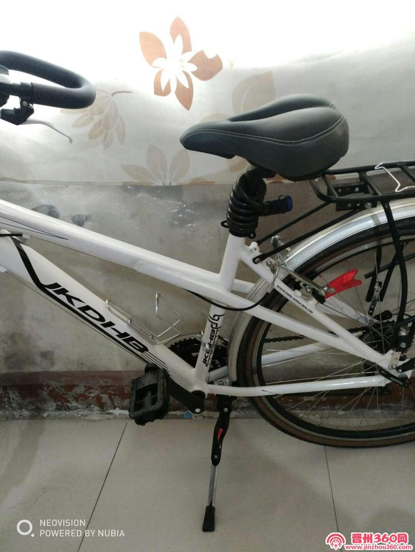 黑马旅行自行车晋州专卖店买的