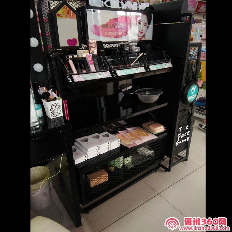 晋州化妆品店出售彩妆柜